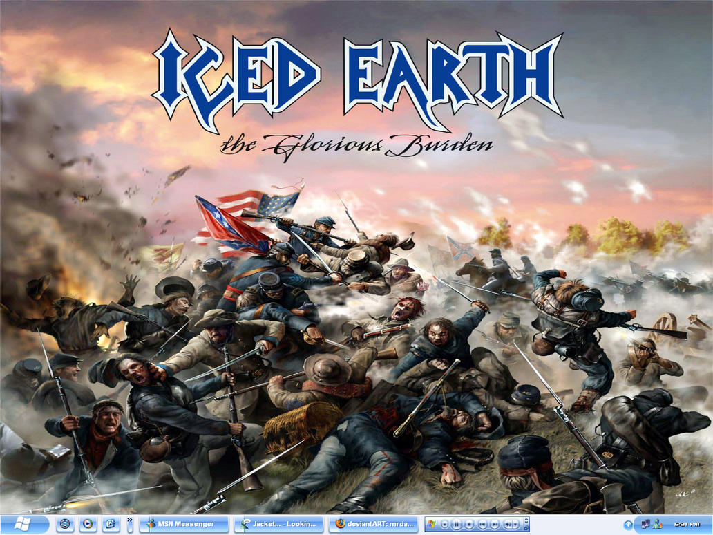 Iced Earth Desktop by mrdamon on DeviantArt