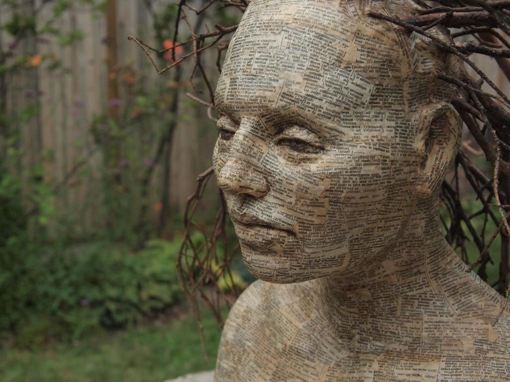 Wood Wife, Word Wife-Closeup II by asantell