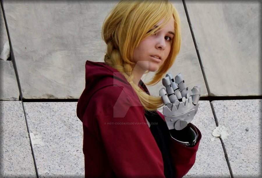Fullmetal Alchemist-Edward Elric cosplay by Hot-cocoaX3