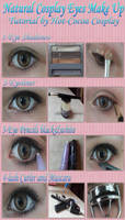 Natural Cosplay Eye Make Up Tutorial by Hot-cocoaX3