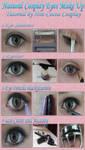 Natural Cosplay Eye Make Up Tutorial