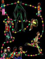 Stranger Things - Follow The Lights by CasstheCri