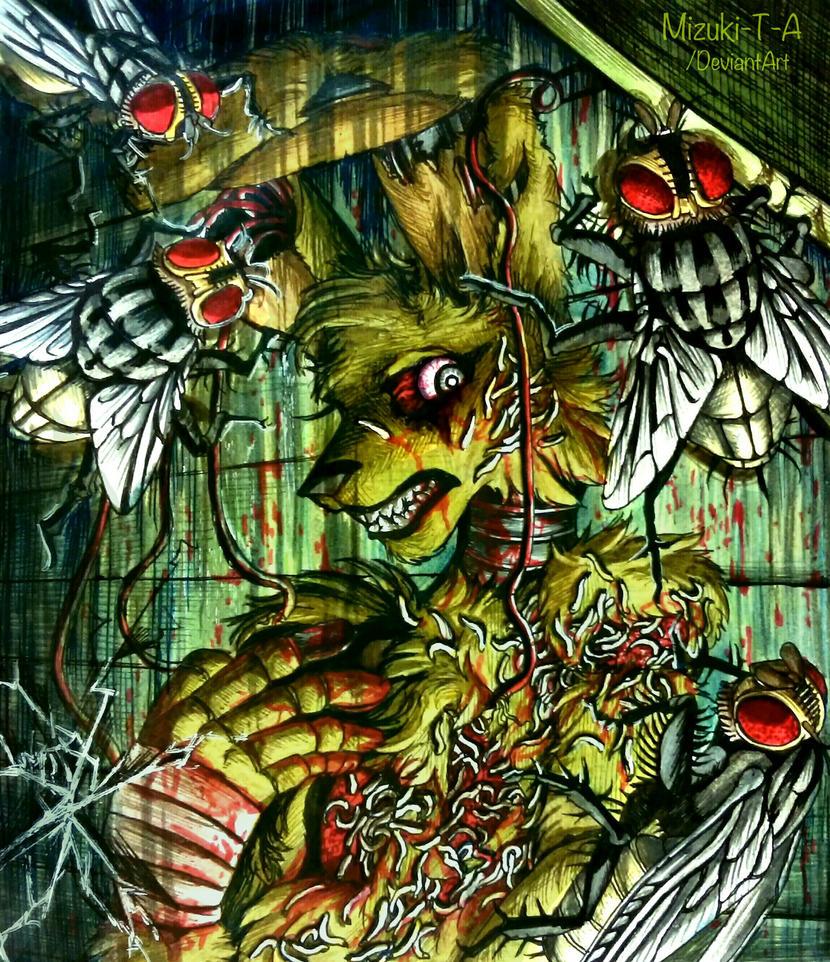 Prince of the flies / FNaF 3 by Mizuki-T-A