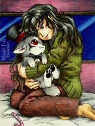 Hugging Hadula by Mizuki-T-A