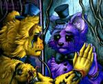 Reflection / Golden Freddy FNaF