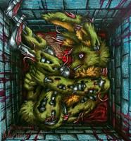 A caged life / Springtrap FNaF by Mizuki-T-A
