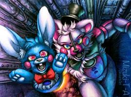 Shooooot!! / Funtime Freddy FNaF SL by Mizuki-T-A