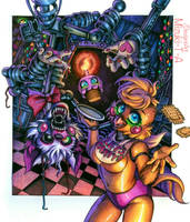 How to feed her / FNaF 2 by Mizuki-T-A