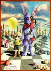 [Old Art 2015] Guardian Bunny / FNaF