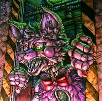 Macabre / Funtime Foxy FNaF SL by Mizuki-T-A