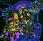 Play in the dark / Springtrap FNaF