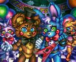 Join us! / Toy Freddy Bonnie FNaF 2