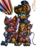 Baby Freddy and Foxy / FNaF