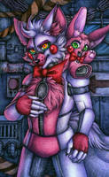 Fox and the rabbit / FNaF SL by Mizuki-T-A