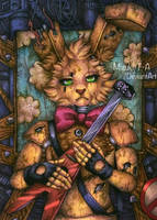 There is just a fake happiness / SpringBonnie FNaF by Mizuki-T-A