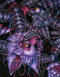 Tangled machine / The Mangle FNaF2