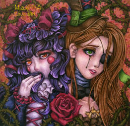 [Gift] The fragile roses by Mizuki-T-A