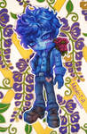 [Gift] Blueberry boy [paperdoll]
