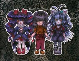 3 defective girls by Mizuki-T-A