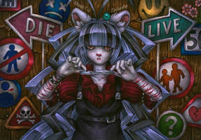 Wanna die child by Mizuki-T-A