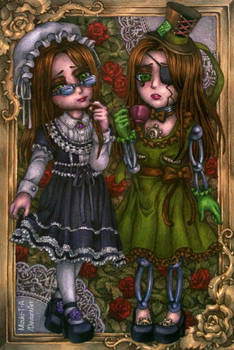 [Gift] The black maid and the green maid