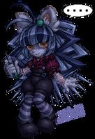 Mizaline [Pixel art] by Mizuki-T-A