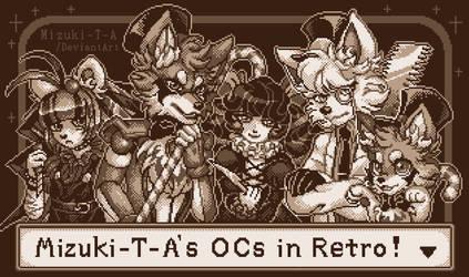 Go on retro! [Pixel art] by Mizuki-T-A