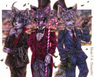 Suits suits suits by Mizuki-T-A