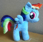 Filly Rainbow Dash Plushie