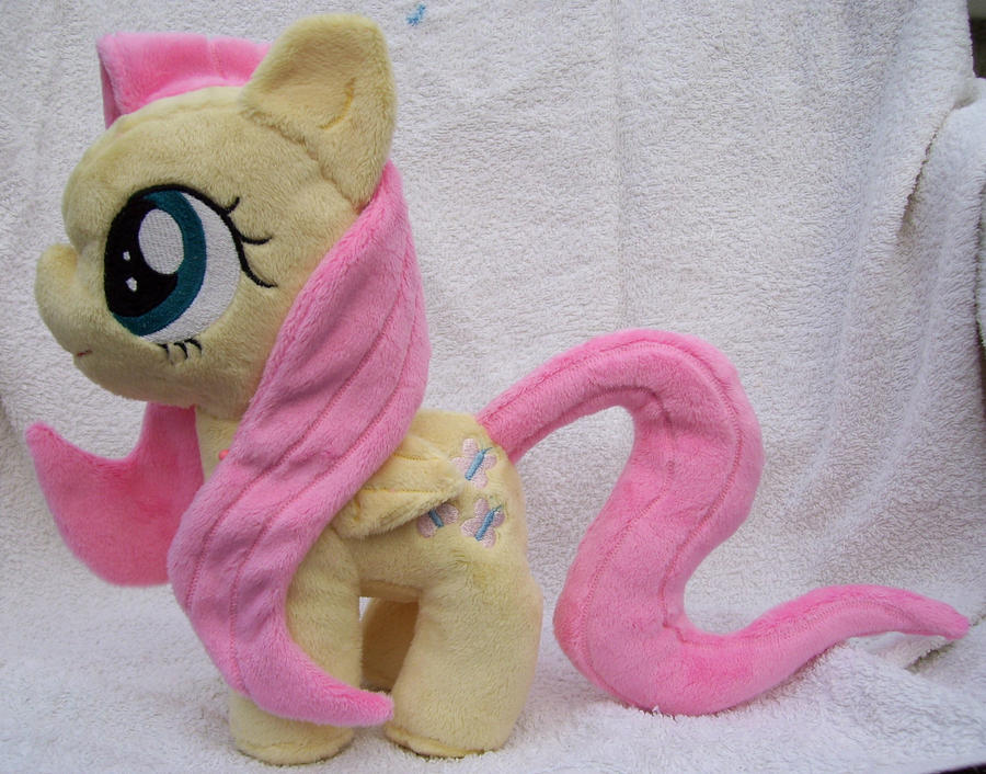 Filly Fluttershy Plushie by Pinkamoone
