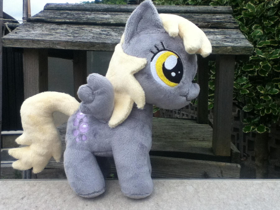 filly Derpy Plushie by PlushieScraleos
