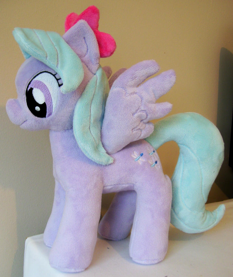 Flitter Pony Plushie by Pinkamoone