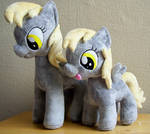 Derpy and filly Derpy