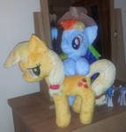 AppleDash - Applejack and Standing Rainbow Dash