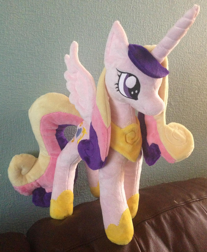 Princess Cadance Plushie by Pinkamoone