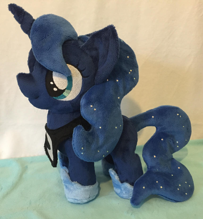 Filly Princess Luna plushie by Pinkamoone