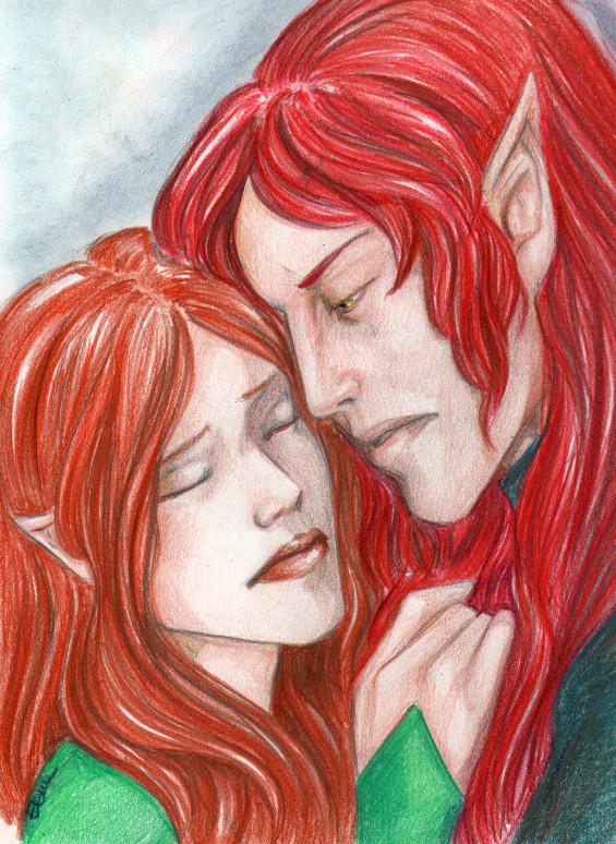 Eyrun and Lyl by HeilyAens