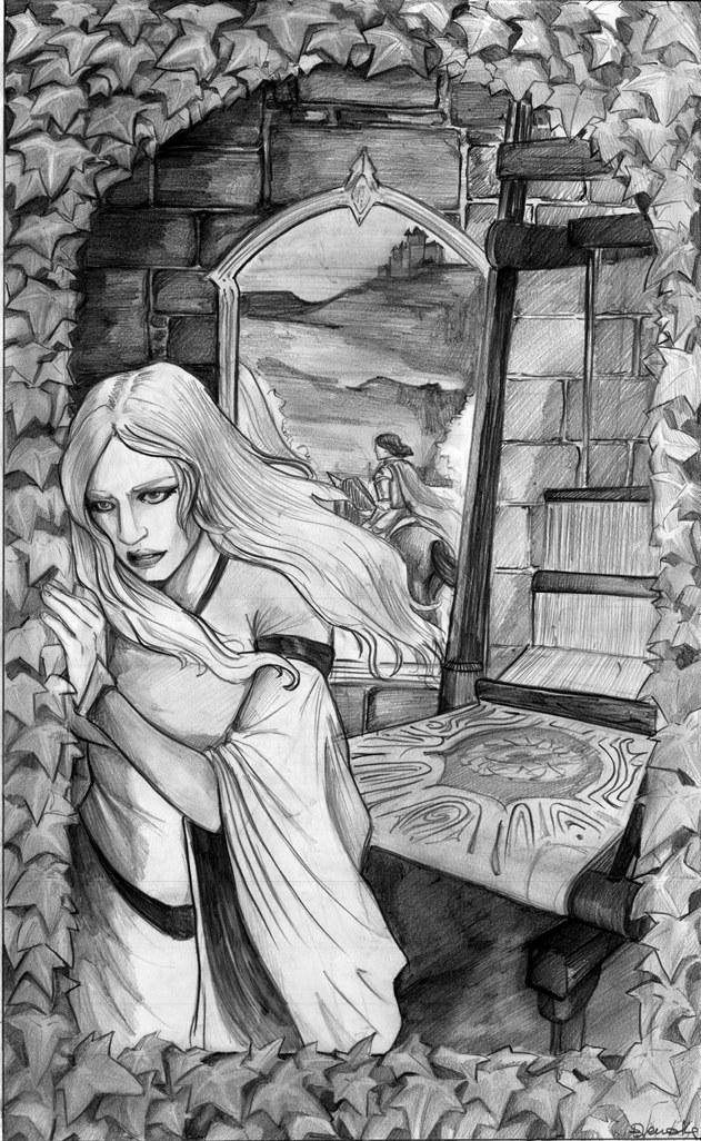 The Lady Of Shalott by HeilyAens