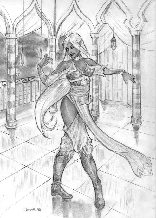 Dancing beauty by HeilyAens