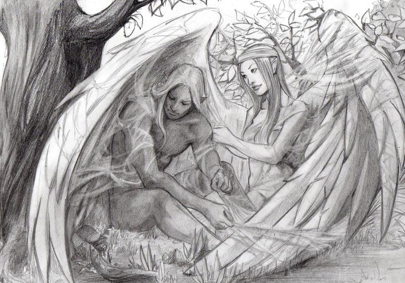 Vethonion and Tuilindo by HeilyAens