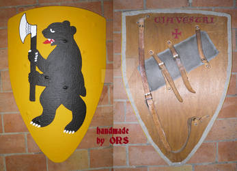 Bear With Axe Shield by enrico-ors-91