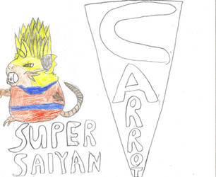 Super Saiyan Carrot by shadowsnorlaxman32