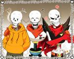 Papyrus Trio AU
