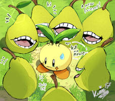 Pears of Salamaca meets Plantiny by Kirby-Popstar