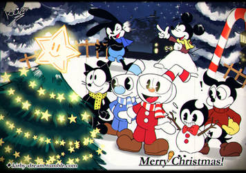 Merry  Xmas With Toons!