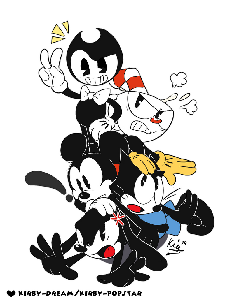 Bendy and The Toon Gang by Kirby-Popstar