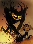 vs. Beast bendy!