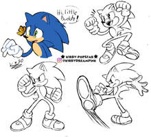 Sonic movie sketchdump
