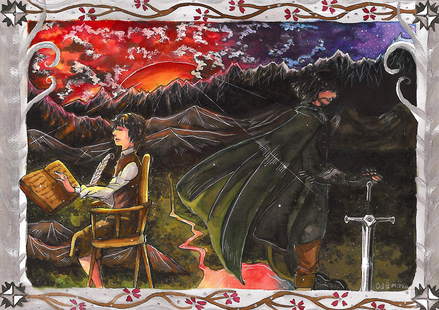 Various types of heroes - Tolkien's Reading Day by Odamako
