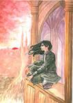 Mourning - Mauvin Pickering by Odamako